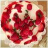 Mohn-Joghurt-Torte mit Himbeeren