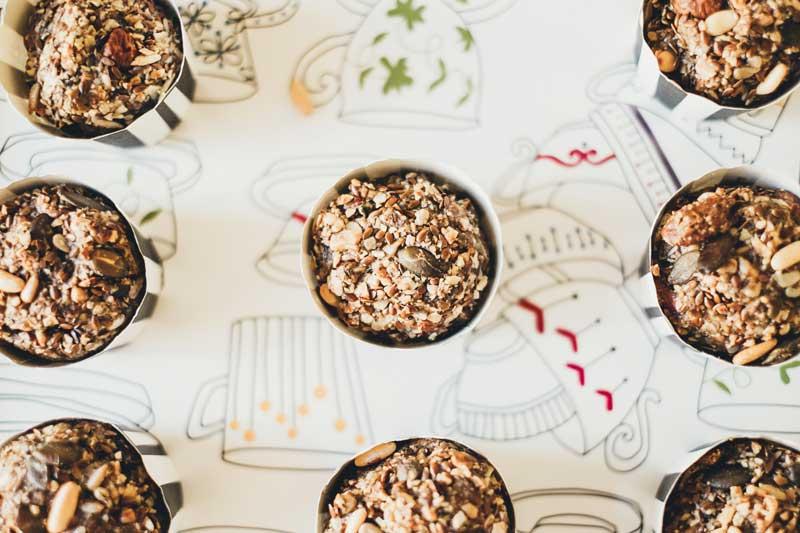 paleo muffins, vegane muffins, nuss muffins