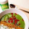 Smoothie, green smoothie, grüne Smoothies, vegan, grüner Tee, Match, goji, superfoods, kokos, Smoothie bowl