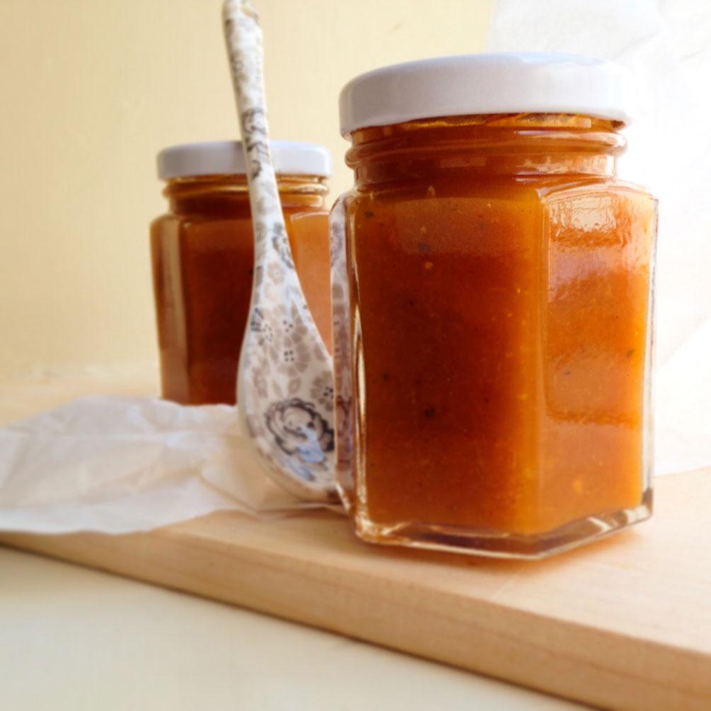 Dip, Sauce, Marille, Chutney, Marillen-Chutney, Tamarind, Tamarind-Chutney, bbq, grillen,