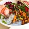 Glasnudelsalat, koreanisch, Gernold, Feierschwammerl, veggie, vegetarisch, vegan, glutenfrei