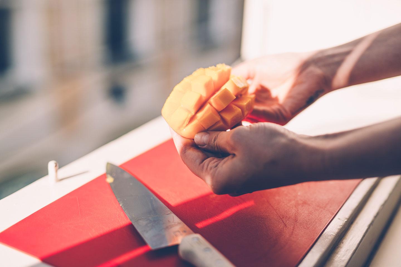 food blog, mango