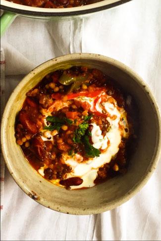 chili, glutenfrei, foodblog Österreich, foodlbogger austria, vegetariian foodblog, glutenfree recipes, glutenfree chili, vegan chili