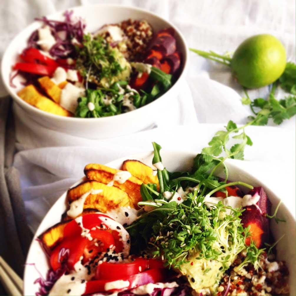 food blog, food freshion, veggie, vegan, healthy, buddha bowl, veggie bowl, tahini, glutenfrei