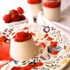 Panna Cotta, Panna Coco, Erdbeeren, Kokos , vegan, foodfreshion, Graz food blog