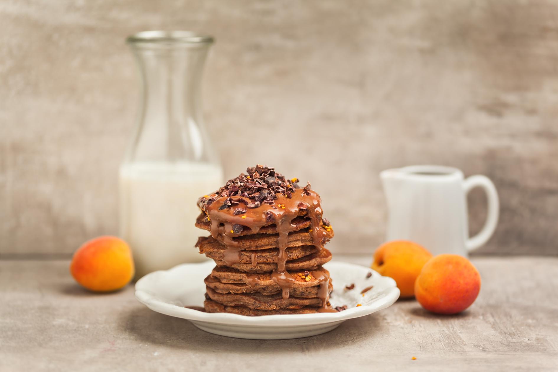 foodfreshion, blog Graz, foodblog Österreich, vegetarisch, pancakes vegan, pancakes rezept, buchweizen pancakes