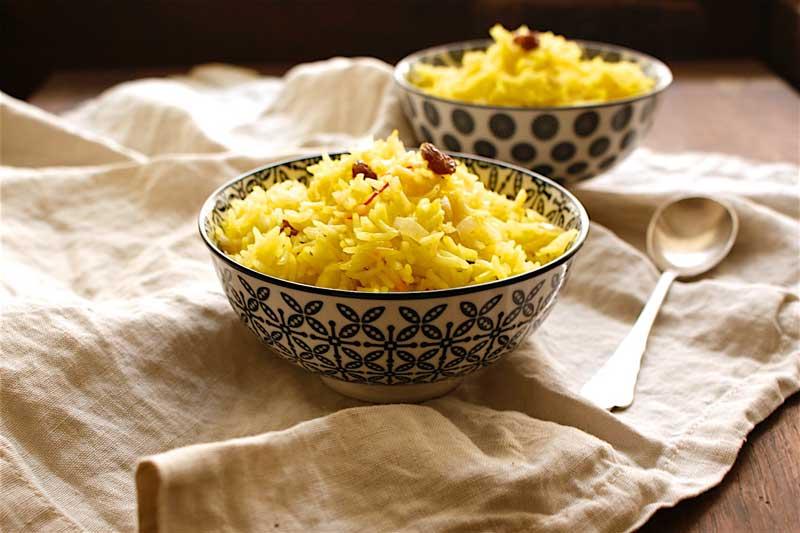 safran-pilaw, saffron, pillow, safran-reis, vegan, tcm, vegetarisch, foodblog österreich, österreich vegetarischer foodblog