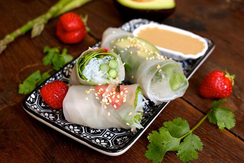 spring rolls, summer rolls, frühlingsrollen, foodblog österreich, rezept spring rolls, sparkle, rezepte mit grünem Spargel, spring rolls mit Spargel, veganer foodblog