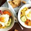 Brunch, Kürbis, glutunfreies Frühstück, Frühstück, breakfast, breakfast bowl, brunch bowl, quinoa brunch bowl